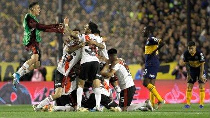 River volvió a festejar a lo grande ante Boca: así llegó a la final de la Libertadores