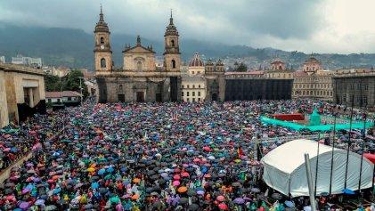 Histórica jornada de movilización en toda Colombia contra el Gobierno de Duque