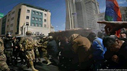 """Bolivia: """"Ni los muertos estarán seguros, si el enemigo vence"""""""