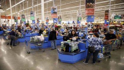 Sin alcohol en gel ni barbijos: así se trabaja en supermercados y mayoristas