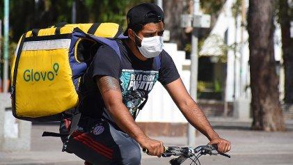 Glovo recorta el sueldo a repartidores en Neuquén