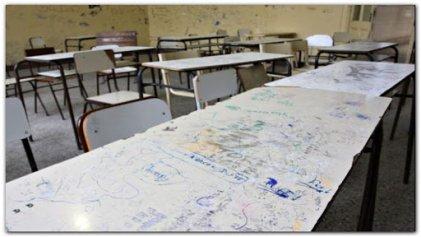Bronca en las escuelas de Córdoba por la vuelta a clases sin garantías