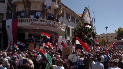 Revueltas, crisis y guerra en Siria