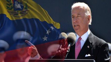 """Biden critica a Trump por ser """"demasiado blando"""" con el cambio de régimen en Venezuela"""