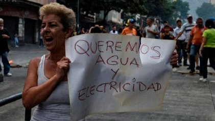 Hartos de la miseria y colapso de los servicios básicos: aumentan las protestas en Venezuela