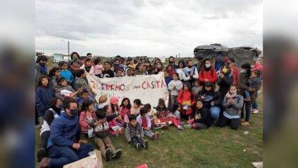 Trabajadores de la salud de La Plata se suman a posta sanitaria en Guernica