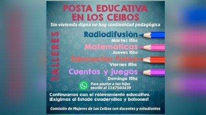 Suteba La Matanza: exigen bolsones para los chicos de Los Ceibos