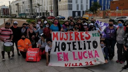 La justicia intima al Gobierno de la Ciudad y posterga el desalojo de El Hotelito-Barrio 31