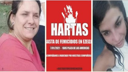 Ezeiza: este jueves autoconvocades gritarán ¡basta de femicidios!