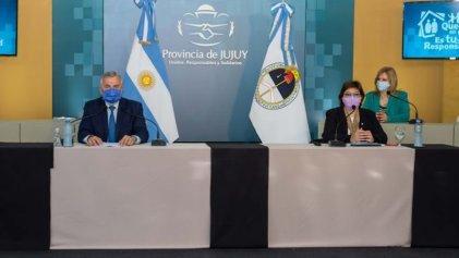 En Jujuy fallecen docentes por Covid y Morales dice que las escuelas no se cierran