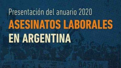 Se realizará la presentación del anuario 2020 de Asesinatos Laborales de Argentina