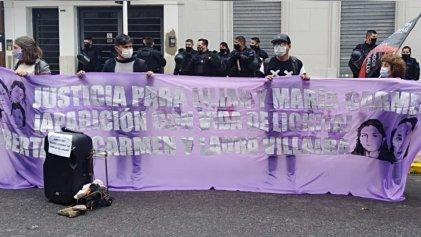 Acto en La Plata a un año del asesinato de las niñas argentinas en Paraguay