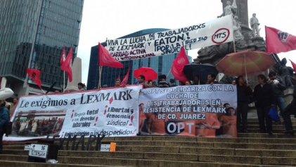 Una vez más: ¡Trabajadores de Lexmark en pie de lucha!