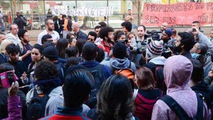 El gobierno de San Pablo amenaza con más represión a estudiantes en lucha