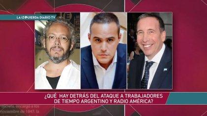 #LaIzquierdaDiarioTV con trabajadores de Tiempo Argentino y Radio América