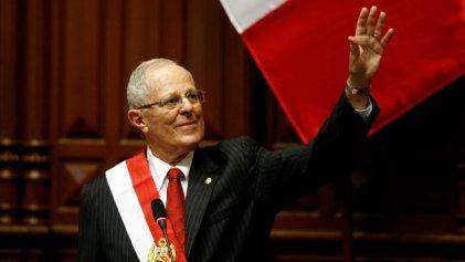 Kuczynski asumió la presidencia de Perú