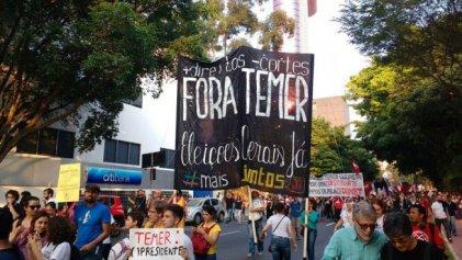 """Por qué se equivoca la izquierda brasileña al defender """"elecciones generales"""""""