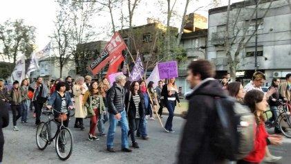 La Plata: Movilización contra la violencia policial hacia la comunidad Trans