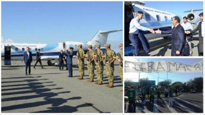 San Luis: escraches y protestas por la visita de Mauricio Macri