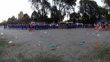 La Plata: La Policía del intendente Garro reprime a la juventud en los carnavales