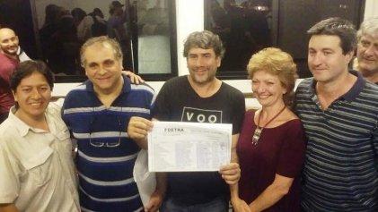 Foetra: se conformó la lista de unidad de la oposición