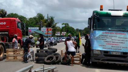 La huelga en Guayana pone la cuestión colonial en la agenda de las presidenciales francesas