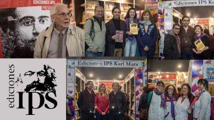Exitosa presentación de La Rosa Roja y nuevas colecciones de Ediciones IPS