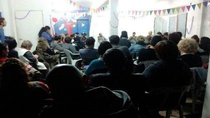 Asamblea contra el fraude de Baradel en Suteba La Plata