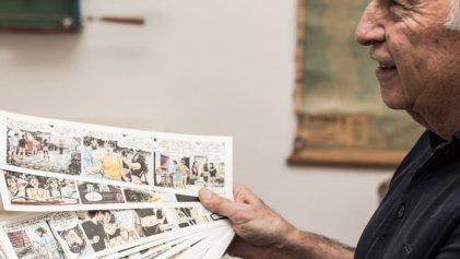 """Horacio Altuna: """"La historieta en Argentina tiene mucho contenido social"""""""
