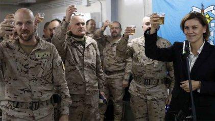 El papel del ejército español en la coalición imperialista contra el Estado islámico