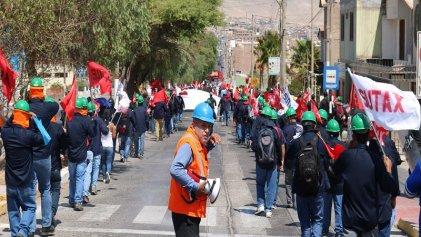 """En Perú """"Para los empresarios mineros, nosotros y nuestras familias no valemos nada"""""""