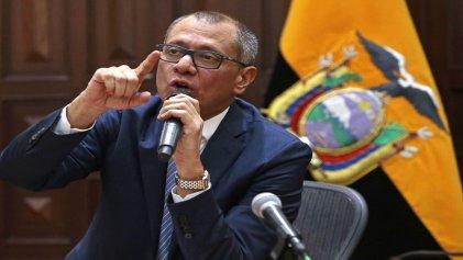 Vicepresidente ecuatoriano es detenido por caso Odebrecht