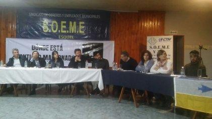 Esquel: diputados se reunieron con comunidades mapuches y por la aparición de Maldonado
