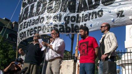 """[Video] Acto en Buenos Aires por Maldonado: """"Denunciamos al Gobierno y su operación de encubrimiento"""""""