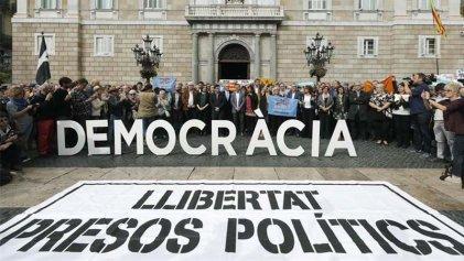 La Fiscalía pide prisión sin fianza para los miembros del Govern catalán