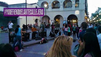 Salta: artistas iniciaron la campaña #YoDefiendoElArteCallejero