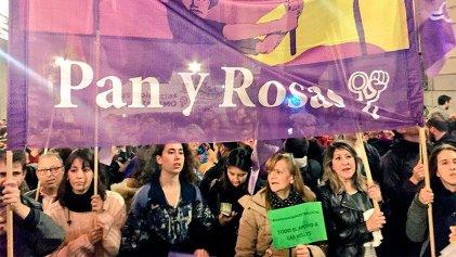 25N en Madrid, la noche de las mujeres en lucha