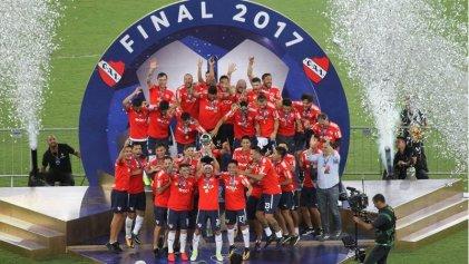 Independiente campeón de América en el mítico Maracaná