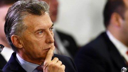 Macri inicia gira europea mientras cae su imagen en las encuestas