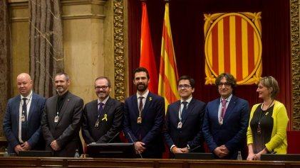 El bloque independentista consigue la mayoría en la mesa del Parlament