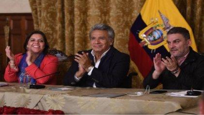 Victoria del Sí en el referéndum de Ecuador