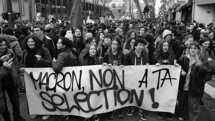 La juventud francesa, otra vez de pie en las calles
