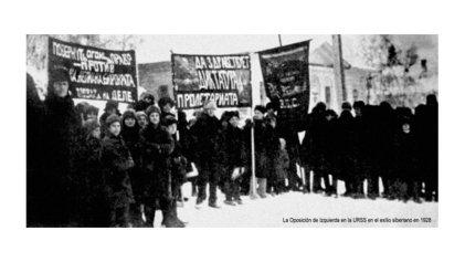 La persecución de la oposición bolchevique rusa