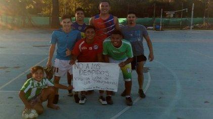 UNGS:Torneo de fútbol 5 contra los despidos y por el triunfo de las luchas