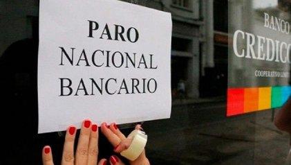 Los bancos y un plan de lucha que no termina de despegar