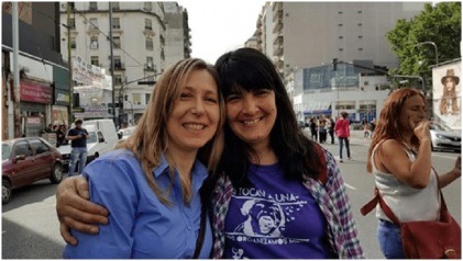Orgullosa: mi abogada, Myriam Bregman es candidata a diputada por el FIT Unidad