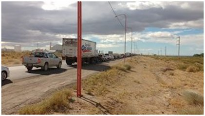 Trabajadores de Maikop continuarán con reclamos y cortes sobre la ruta 22 la próxima semana