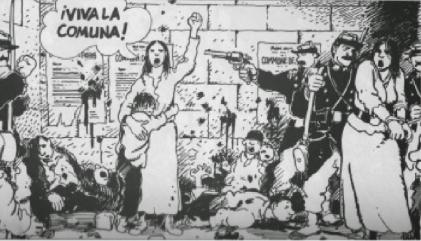 Las hadas de la Comuna de París