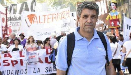 """""""La marcha expresó a un sector de la clase obrera dispuesto a pelear contra el Gobierno"""""""
