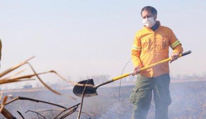El insólito tuit de Cabandié por las quemas del delta del Paraná
